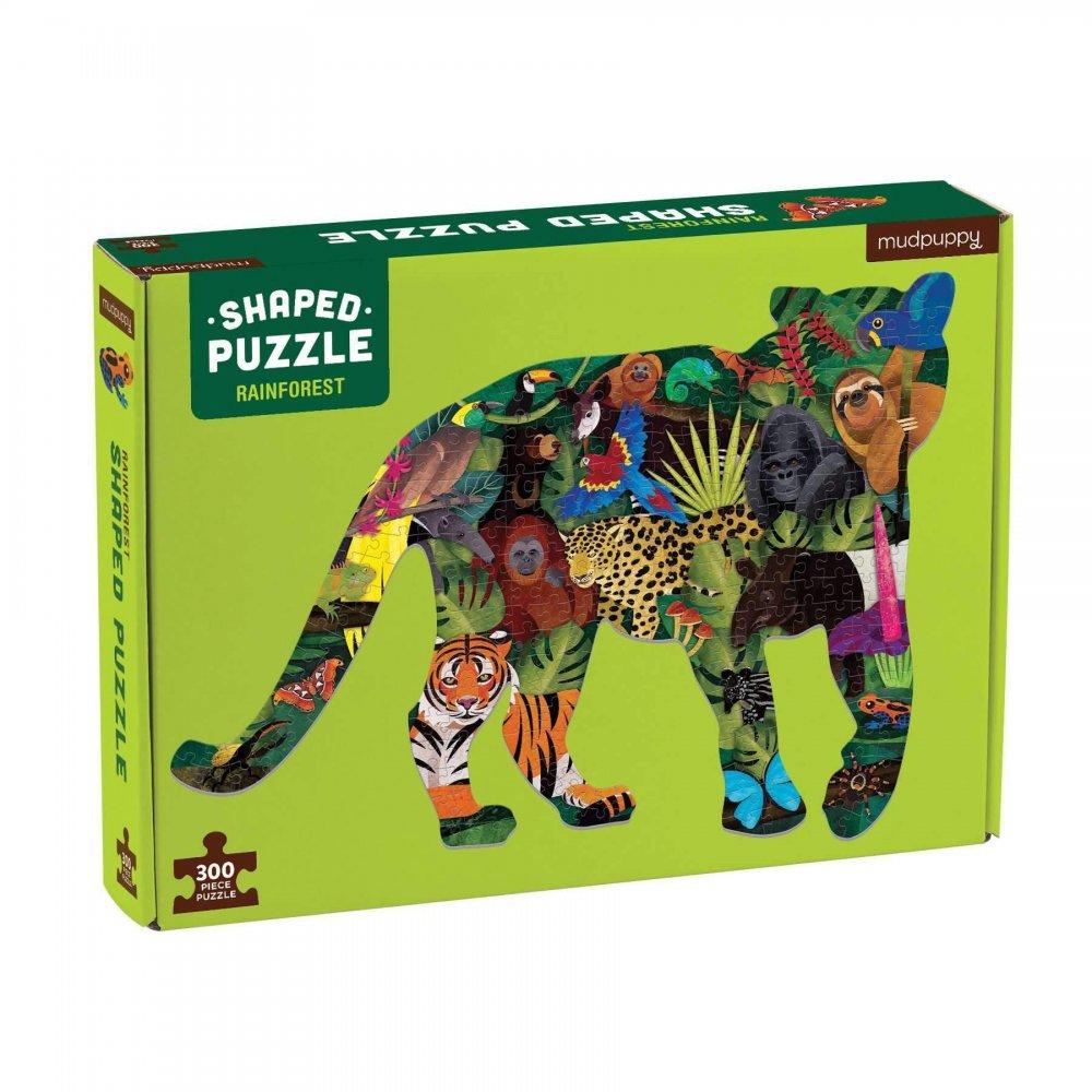 Puzzle Cultura: Bosque lluvioso